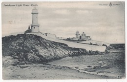 Innishowan Lighthouse Moville Donegal Ireland 1906 Postcard - Donegal