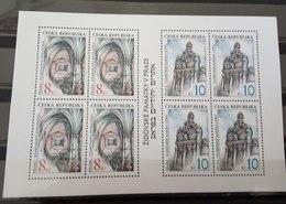 CZECH REPUBLIC BLOCK SOUVENIR SHEET JUDAICA SYNAGOGA PRAGUE MNH - Czech Republic