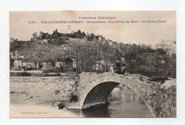 - CPA VILLENEUVE-LOUBET (06) - Le Vieux Pont - Edition Giletta 1164 - - Frankreich