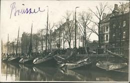 Brüssel Bruxelles Straßenpartie Am Anleger Privatfoto AK Feldpost 1916 - Belgium