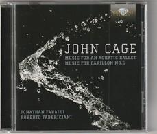 Cd  JOHN CAGE  Music For An Aquatic Ballet  Jonathan Faralli  Etat: TTB Port 110 GR - Classique