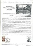 Document Philatelique Officiel Fdc 1984 Revel Auriol - 1980-1989