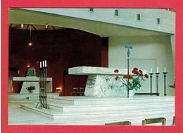 CHARTRES EGLISE SAINT JEAN BAPTISTE DE RECHEVRES INTERIEUR AUTEL CARTE EN TRES BON ETAT - Chartres