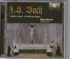 Cd  J S BACH   SCHUBLER CHORALES 2 CD  PRELUDES ET FUGUES  Etat: TTB Port 140 GR - Classique