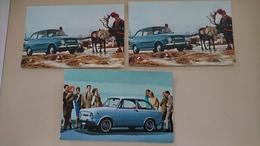 CP Fiat 850 - Voitures De Tourisme