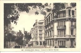 MAROC - CASABLANCA - Avenue Du Général Moinier - Casablanca