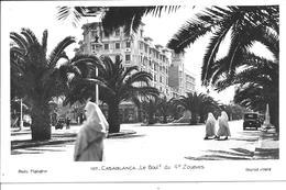 MAROC - CASABLANCA - Le Boulevard Du 4e Zouaves - Casablanca