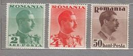 ROMANIA 1934 MNH(**) Mi 474, 475, 476 #24366 - Neufs