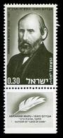 1968Israel430''Abraham Mapu 1808-1867'' - Nuevos (con Tab)