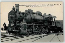 52950665 - E-Heissd.-Verbund-Gueterzuglokomotive Saechs. Staatsbahn - Trains