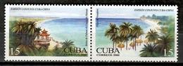 Cuba 2000 / Nature Beaches Joint Issue China MNH Playas Naturaleza Strände Natur Emisión Conjunta / Cu11715  C1 - Emisiones Comunes