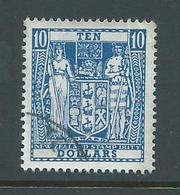 New Zealand 1967 $10 Postal Fiscal FU - New Zealand