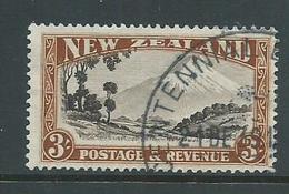 New Zealand 1935 3/- Mt Egmont FU - 1907-1947 Dominion