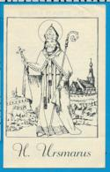 Holycard   Litanie    St. Usmarus    Baasrode   1841 - Imágenes Religiosas
