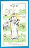 Holycard   Litanie    St. Jodocus   St. Josse - Sur - Mer - Images Religieuses
