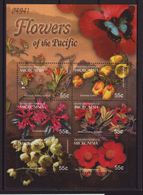 Micronesia 2004, S/s Flowers, Complete Set, MNH. Cv 7,20 Euro - Micronesia