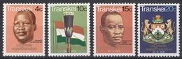 Wib_ Transkei - Mi.Nr. 18 - 21 - Postfrisch MNH - Transkei