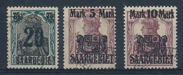 SAARGEBIET - Mi Nr 50/52 - Gest./obl. - Cote 45,00 € - 1920-35 Société Des Nations