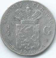 Curaçao - 1900 - ¼ Gulden - KM35 - Curacao