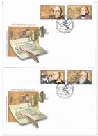 Moldavië 2009, Envelope, Famous Persons - Moldavië