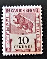 CANTON DE BERNE - NEUF ** - Service