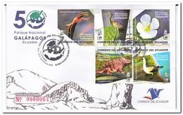 Ecuador 2009, Envelope, Charles Darwin - Celebrità