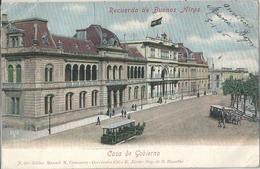 CPA Argentine Buenos Aires Casa De Gobierno - Argentina