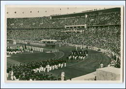 XX002148/ Olympiade 1936 Berlin Eröffnung Des Olympia-Stadions Foto AK - Olympische Spiele