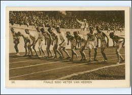 XX002157/ Olympiade 1928 Amsterdam 5000-Meter Finale Van Heeren AK - Olympic Games