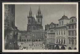 CPA TCHEQUIE - Prag, Altstadter Ring - Czech Republic
