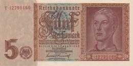 ALLEMAGNE - 5 Reichsmark 1942 - [ 4] 1933-1945 : Tercer Reich