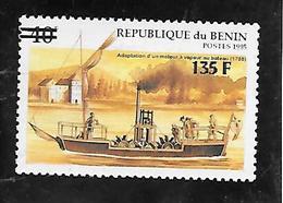 TIMBRE NEUF DU BENIN SURCHARGE EN 2000 N° MICHEL 1232 COTE 200 € - Bénin – Dahomey (1960-...)