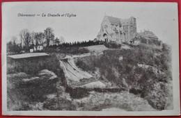 Cpa CHEVREMONT La Chapelle Et L'Eglise - Chaudfontaine