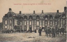 27 LYONS-la-FORET  Rendez-vous De Chasse Au Château De Rosay - Lyons-la-Forêt