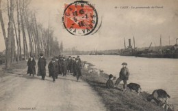 14 CAEN  La Promenade Du Canal - Caen