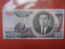 COREE(NORD) 5000 WON 2006 PEU CIRCULER/NEUF - Corée Du Nord