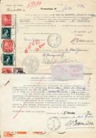 Procuration Koekelberg 1956 à 1965 + 1979 + 1983 Et De-mande D'une Carte Pour Mandataire - 1936-1951 Poortman