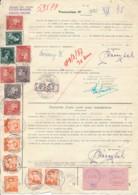 Procuration Berchem St Agathe 1956 à 1965, Vignette 1986 - Poortman & Baudouin à Lunettes - 1953-1972 Glasses