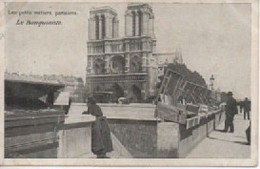 LES PETITS METIERS  PARISIENS LES BOUQUINISTES   AGE D OR - Artigianato Di Parigi
