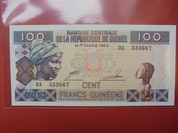 GUINEE 100 FRANCS  PEU CIRCULER/NEUF - Guinea