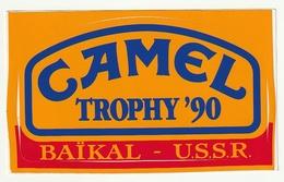 Autocollant Sticker Camel Trophy '90 Baïkal- U.S.S.R. - Autocollants