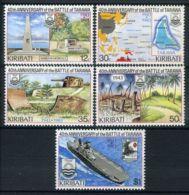 KIRABATI (  POSTE ) Y&T  N°  109/113  TIMBRES  NEUFS  SANS  TRACE  DE  CHARNIERE . - Kiribati (1979-...)