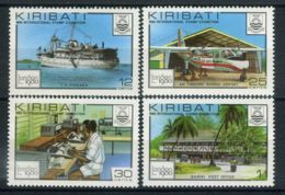 KIRABATI (  POSTE ) Y&T  N°  28/31  TIMBRES  NEUFS  SANS  TRACE  DE  CHARNIERE . - Kiribati (1979-...)