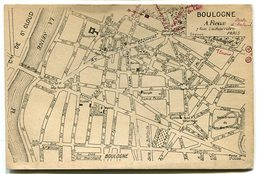 Plan De Boulogne Billancourt - Boulogne Billancourt
