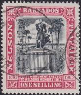 Barbados      .     SG    .   151      .     O    .   Cancelled   .   /    .     Gebruikt - Barbados (...-1966)