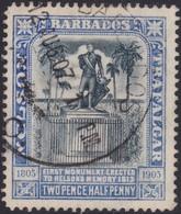 Barbados      .     SG    .   162      .     O    .   Cancelled   .   /    .     Gebruikt - Barbados (...-1966)