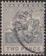 Barbados      .     SG    .   166         .     O    .   Cancelled   .   /    .     Gebruikt - Barbados (...-1966)