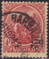 Barbados      .     SG    .   214        .     O    .   Cancelled   .   /    .     Gebruikt - Barbados (...-1966)