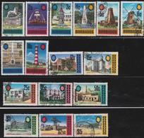 Barbados      .     SG    .     399/414           .     O    .   Cancelled   .   /    .     Gebruikt - Barbados (...-1966)