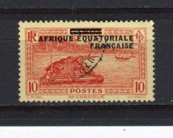 AFRIQUE EQUATORIALE FRANCAISE - Y&T N° 21° - Sur Le Fleuve Ogooué - A.E.F. (1936-1958)